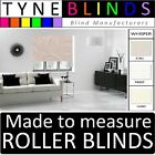 Louvolite WHISPER made to measure ROLLER BLINDS - straight edge or scalloped