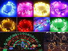 2M 20Leds Wire LED Lights Starry String Fairy Lamp Party Garden Christmas Decor