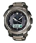 CASIO PROTREK TITANIUM PATHFINDER SOLAR WATCH PRG-510T-7DR Warranty,Box,RRP:450