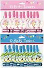 10 PACK SET PARTY BLOWER FLUTE WHISTLE FOR GIRL & BOY KIDS CHILD BIRTHDAY PARTY