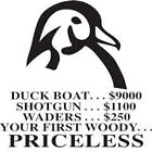 Duck Boat Shotgun Waders Your 1st Woody Shirt DISCONTINUED