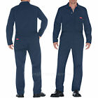 Men Coveralls Dickies FR Flame Resistant Long Sleeve Coverall JV100 Navy