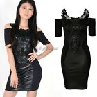 Vintage Womens Pinup Rockabilly Bodycon Stretch Shift Wiggle Party Pencil Dress