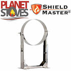 Stainless Steel Shieldmaster 130-210mm Wall Support For Twin Wall Flue Pipe