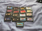 17 X GAMEBOY ADVANCE GAMES