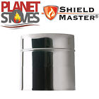 Stainless Steel Shieldmaster 200mm Length Of Twin Wall Insulated Flue Pipe