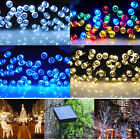 100/200LED Solar Power Fairy String Lights Lighting Party Xmas Garden