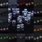 20pcs DIY Jewelry Glass Crystal Cube Beads Spacer 6x6x6mm YOU PICK COLOR