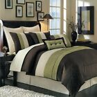 Hudson Luxury 8PC Comforter Set, Includes Comforter, Skirt, Shams and Pillows