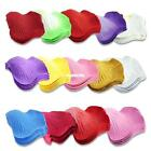 COLORFUL SILK FABRIC ROSE FLOWER PETALS WEDDING SCATTERS TABLE DECORATION 1 PACK