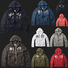 New Hollister By Abercrombie Men Emerald Cove Full-Zip Hoodie Sweatshirt jacket