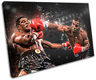 Boxing Mike Tyson Sports SINGLE CANVAS WALL ART Picture Print VA
