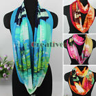 New Europe Fusion Castle Print Infinity 2-Loop Eternity Endless Circle Scarf