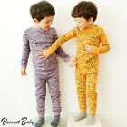 "2Pcs Vaenait Baby Toddler Kid Boy Girls Clothes Sleepwear Pajama Set ""Banana"""