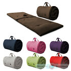 Roly Poly Guest Sleep Over Mattress Roll Up Futon Z Bed Folding Single Visitor