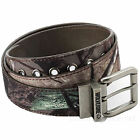 Wolverine Belt Mens 1 1/2'' Camouflage Reversible Leather & Cotton W/  Buckle