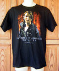 The Hunger Games Katniss Everdeen District 12 Black T Shirt NWOT Licensed