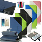 Luxury Magnetic Leather Flip Wallet Credit Card Cover Case For Apple iPhone 5 5S