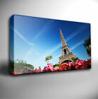 EIFFEL TOWER PARIS GICLEE CANVAS WALL ART PRINT *Choose your size