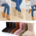 New Hot Design Women / Girls Winter Warm Mid-calf Snow Cold Weather Boots Shoes