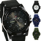 Sport Watch Fabric Strap Sports Style Men Military Army Pilot 4 Colors