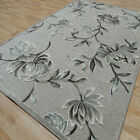 Traditional / Floral Silk Look Rugs Genova Taupe - 38265/6525
