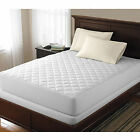 Quilted Mattress cover Bed Bug Dust Mite Allergy Relief Waterproof Pad Protector image