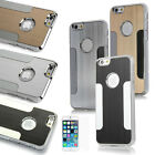 Luxury Aluminum Ultra-thin Matte Chrome Hard Case Cover For iPhone 6  4.7'+Film