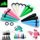 18pcs Acrylic Mixed Gauges Tapers Ear Plug Expander Stretcher Stretching Set Kit