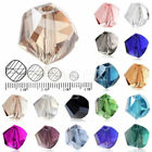 5020 100Pcs Helix Crystal 6mm Glass Loose Beads DIY Jewelry Making Fit Swarovski