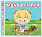Girls 2nd Birthday: Fun Nursery Rhymes Gift CD ✿ Personalised Gifts 4 Kids