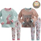 "[Korea]2pcs Baby Infant Toddler Kid Boys Girls Clothes Sleepwear Pajama""Pastel"""