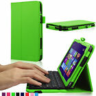 PU Removeble Bluetooth Keyboard Case Cover Stand for Dell Venue 8 pro 5830