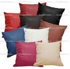 Pb+9 Colors Faux Leather Skin Soft PU Cushion Cover/Pillow Case *Custom Size*