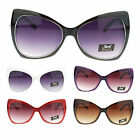 Giselle Womens Large Butterfly Cat Eye Diva Designer Fashion Sunglasses