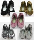 NEW GENUINE GROSBY JIFFIES GIRLS BALLET DANCE FLAT SOFT SHOE SLIPPER SHOES
