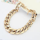 Fashion Gift Jewelry 9k Yellow Gold Filled Resin Hollow Sweater Chain Necklace