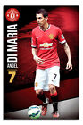 Manchester United Angel Di Maria Poster New - Maxi Size 36 x 24 Inch