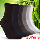 2014 New 10 Pair Man Short Bamboo Fiber Socks Stockings Middle Socks 4 Colors