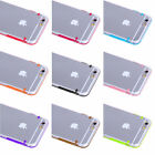 For Apple iPhone 6 / 6 Plus Rubber Gel Ultra Thin Case Cover Transparent Clear