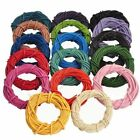 100% Real Round Leather Cord - 1,1.5,2,2.5,3MM String Lace Thong Jewellery  HQ