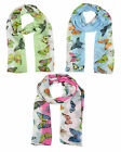 Ladies Scarf Summer Scarf Butterfly Pattern Animal Print Butterfly Scarf sc36