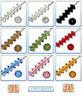 Swarovski Crystal Beads 5305 Abacus 5mm & 6mm * Many Colours *