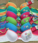 LOT Be Cool Love Kitty Cat WIRED Demi Girl 28A 30A 32A Cotton Teenager Bra