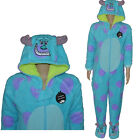 Primark Sulley Sleepsuit Boys Girls Kids Pyjamas All In One Romper Ages 7-13 New