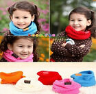 Kids Scarf Scarves Boys Girls Winter Neck Warmer Childrens Baby Gift Christmas