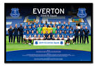 Everton FC Team Photo 2014 / 2015 Season Magnetic Notice Board Includes Magnets