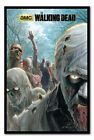 Framed The Walking Dead Zombie Hoard Poster New Ready To Hang