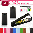 NEW STYLISH LEATHER FLIP CASE COVER FOR HTC ONE S FREE SCREEN PROTECTOR