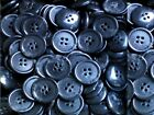 Large 20mm Dark Grey Patterned 4 Hole Quality Buttons Various Pack Sizes (BB18 X